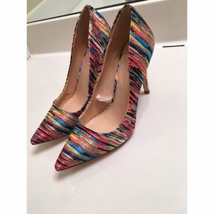  Parabal Gurug Multicolored Pumps 