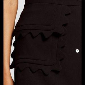 NWT Victoria Beckham for Target Black Skirt