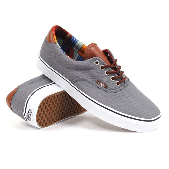 e49175cd80 Vans Era 59 C L Steel Grey   Multi Stripe Shoes