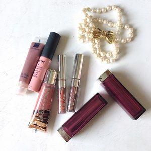 lips bundle 🥀 Kylie cosmetics + NYX + maybelline