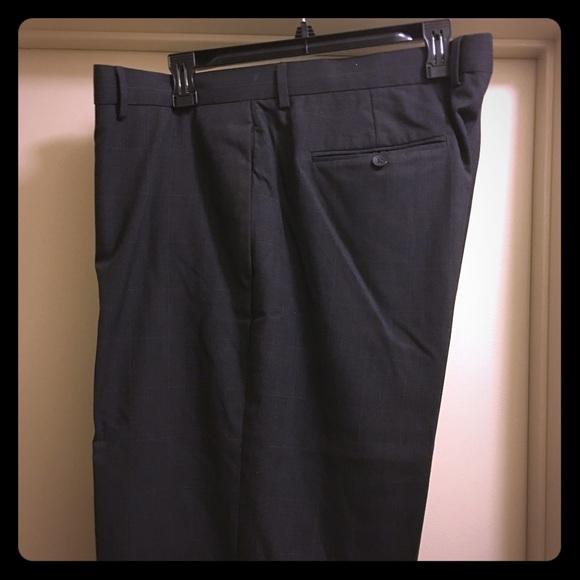 67 off van heusen other nwot van heusen studio grey slacks from sam