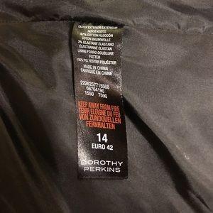 Dorothy Perkins Jackets & Coats - Geometric Print Tuxedo Jacket