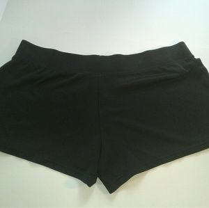 Athletic Works Pants - Black athletic shorts
