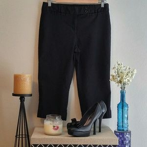 Tracy Evans Limited Stretchy Black Capris