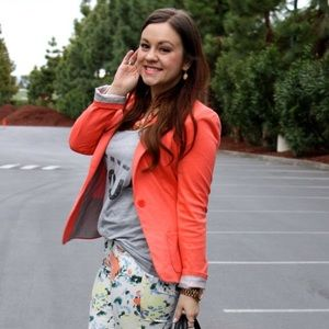 Cotton On Jackets & Coats - Coral Knit Blazer