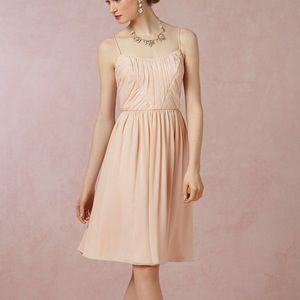 Blush Color Chiffon Dress Sz 0 w/One Free Gift