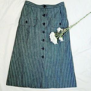 Peroche Dresses & Skirts - Vintage Peroche Paris Striped Skirt