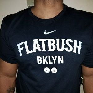 12d948194 Nike Shirts   Men Flatbush Brooklyn 2 5 Train Line Logo Tee   Poshmark