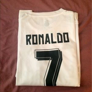 NWT Real Madrid Ronaldo Soccer Jersey Adult Large