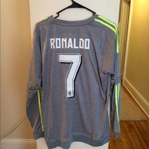 NWT Real Madrid Cristiano Ronaldo Soccer Jersey