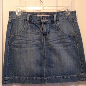 Old Navy Denim Jean Skirt Size 10 EUC