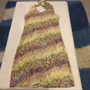 Millenium Dresses & Skirts - Millennium Flower Print Halter Maxi Dress Small