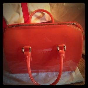 Peach 🍑 Furla🍭 🍬 Candy bag 💼