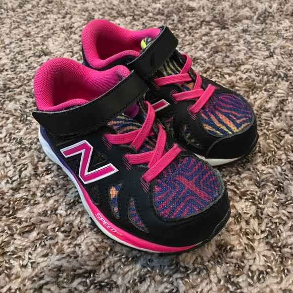 many choices of special sales great fit New Balance toddler girl size 8