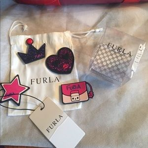 Furla candy bag ornaments Velcro stickers