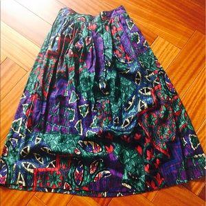 Fantastic vintage cotton skirt