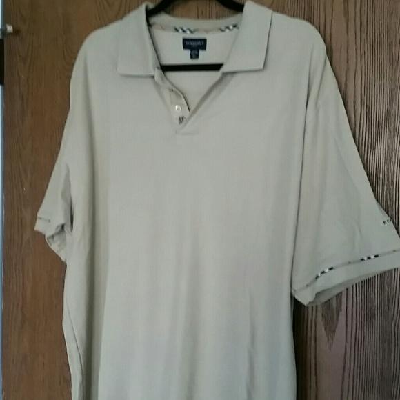 burberry burberry golf men 39 s xl short sleeves polo shirt