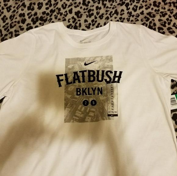 45e75034b Nike Tops   Women Flatbush Brooklyn City Print 2 5 Train   Poshmark