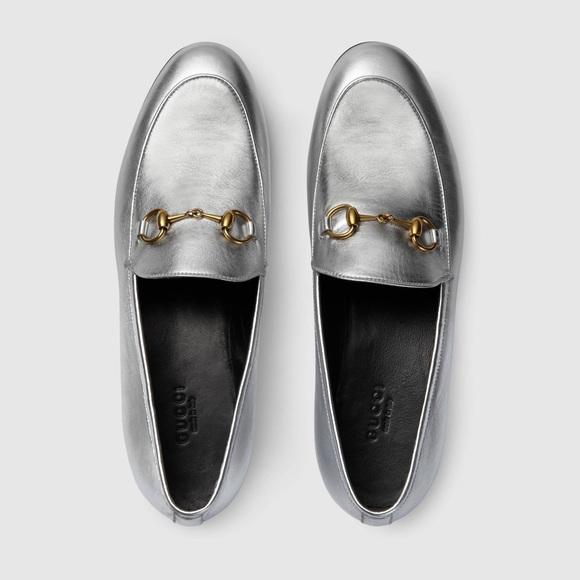 Gucci Shoes - Gucci Horsebit Loafers Silver 38 8 1f04980fa933