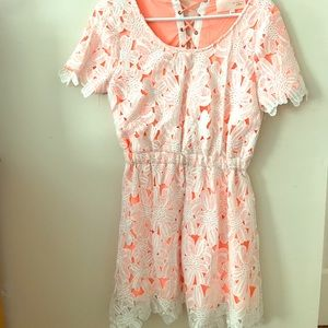 JOA Los Angeles Lace Dress from Urban Outfitters