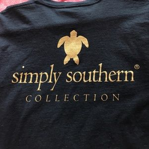Simply Southern Tops - Turtle SS Long Sleeve
