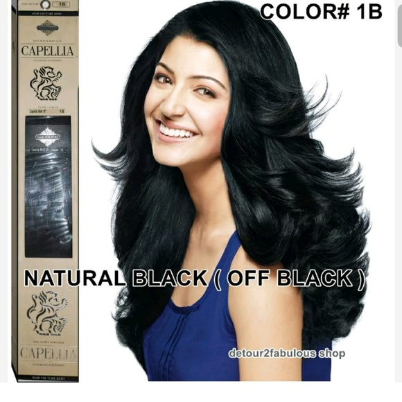 Wefted Human Hair Extensions 111