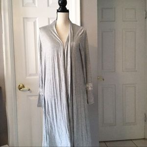 Romeo & Juliet Couture Sweaters - Long Sheer Back Cardigan