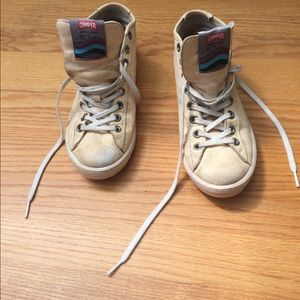 Camper Shoes - Camper white leather sneakers