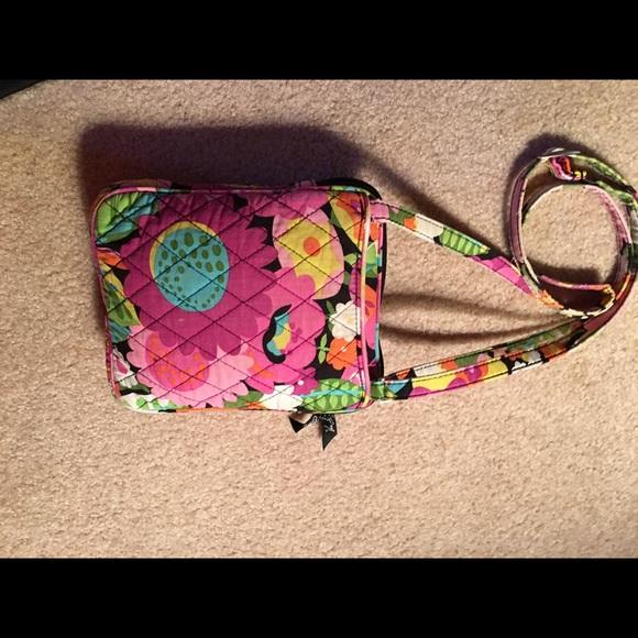 69% Off Vera Bradley Handbags - Vera Bradley Pink Floral Crossbody Handbag From Maryu0026#39;s Closet On ...