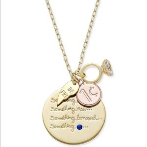 New Kate Spade Tie-The-Knot Charm Necklace!