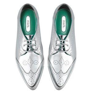 Avon Shoes - mark by Avon silver sneakers