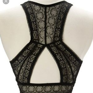 French Affair Other - Meant to be Scene Black Lace Bralette