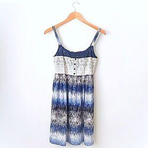 Hem & Thread Dresses & Skirts - Brand new Hem & Thread blue and tan dress