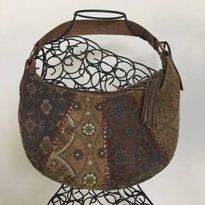 Fossil 🗝• Floral Shoulder Bag