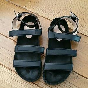 L.A.M.B. Shoes - L.A.M.B. black sandals