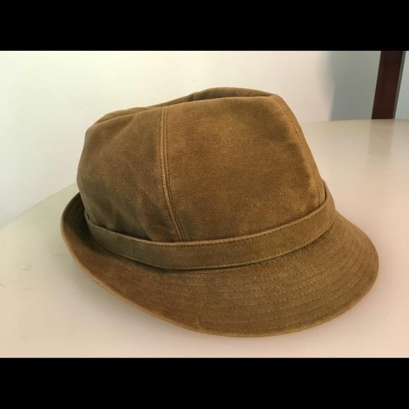 vintage cool vintage olive green swedish soft cotton hat