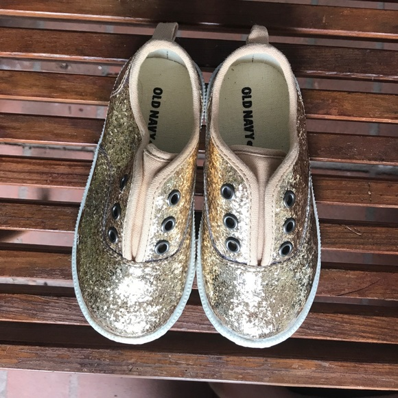 Old Navy Sparkle Tennis Shoes