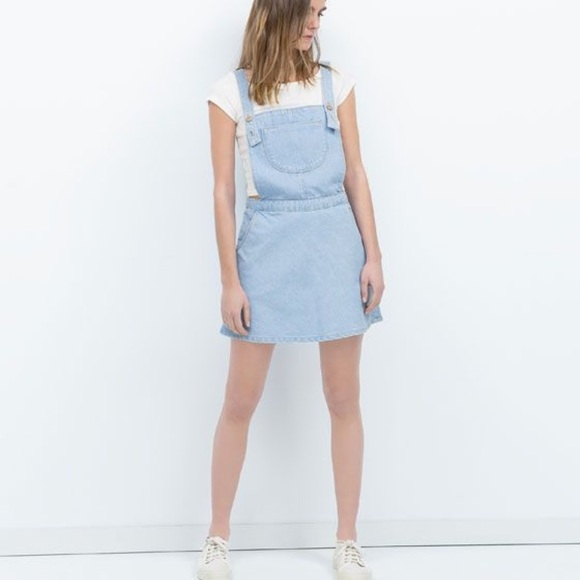 64bd2ead2ea Zara Ted denim jumper  skirt overalls