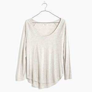 madewell anthem scoop tee