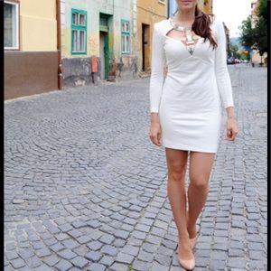Venus OffWhite Dress