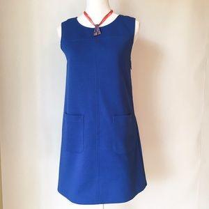 Tulle Dresses & Skirts - Tulle royal blue sleeveless A-line dress