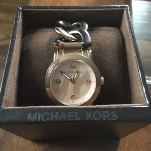 Michael Kors Accessories - Michael Kors rose gold and tortoise watch
