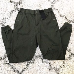 Men's Five Four NWT Army Green Joggers
