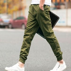 Five Four Other - Men's Five Four NWT Army Green Joggers