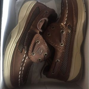 Sperry Other - Sperry Top-Sider Lanyard AC Brown size 9 1/2