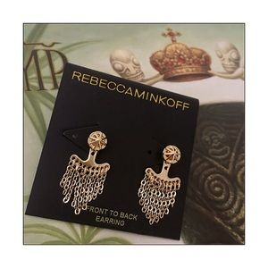 Rebecca Minkoff Jewelry - ✨Rebecca Minkoff Front To Back Caged Stud Earrings
