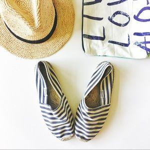 Soludos Shoes - soludos for j. crew • stripe espadrilles