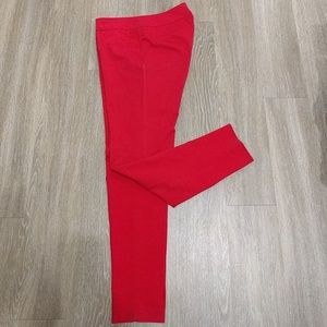 Pants - Cynthia Rowley Red Dress Pant Ankle Cropped