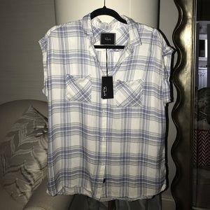 Rails Tops - Rails sleeveless flannel - NEW