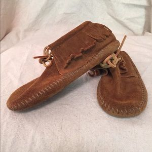 Other - Minnetonka boys size 12 moccasins